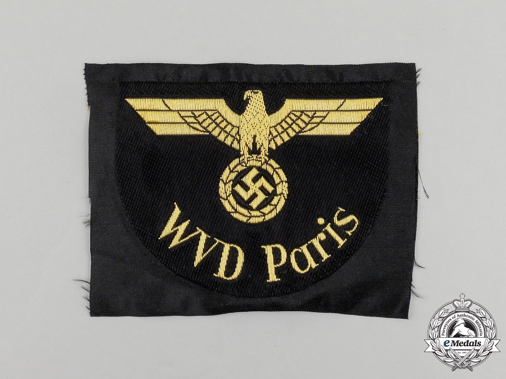 A DRB (German National Railway) WVD Paris Sleeve Eagle
