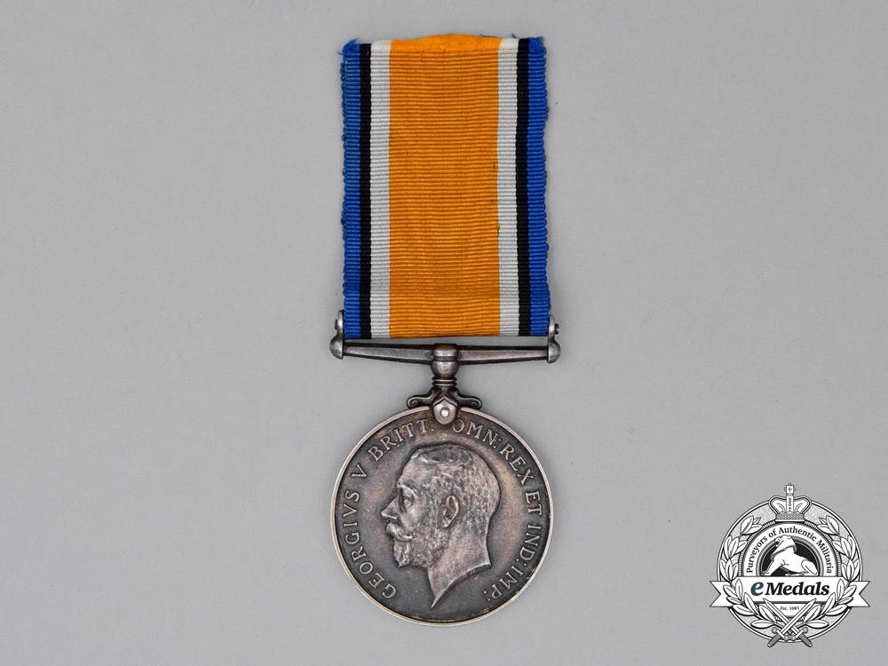 A British War Medal to 2nd Lieutenant Herbert Thomas Mackie, Royal Air Force