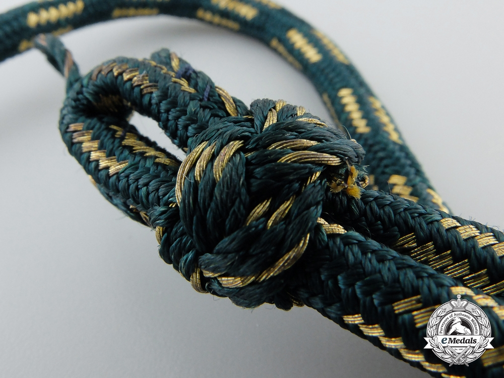 A German State Forestry Official's Aiguillette