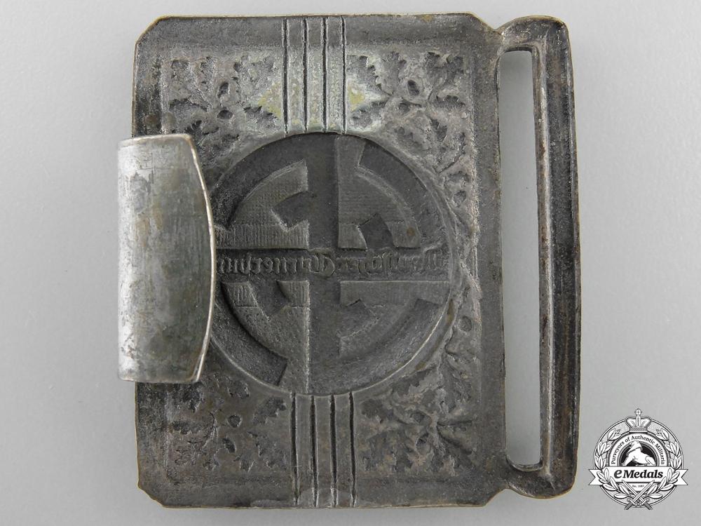 A German Gymnastics Federation (Deutsches Turnerbund) Belt with Buckle