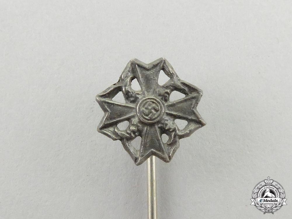 A Silver Grade Spanish Cross Miniature Stick Pin