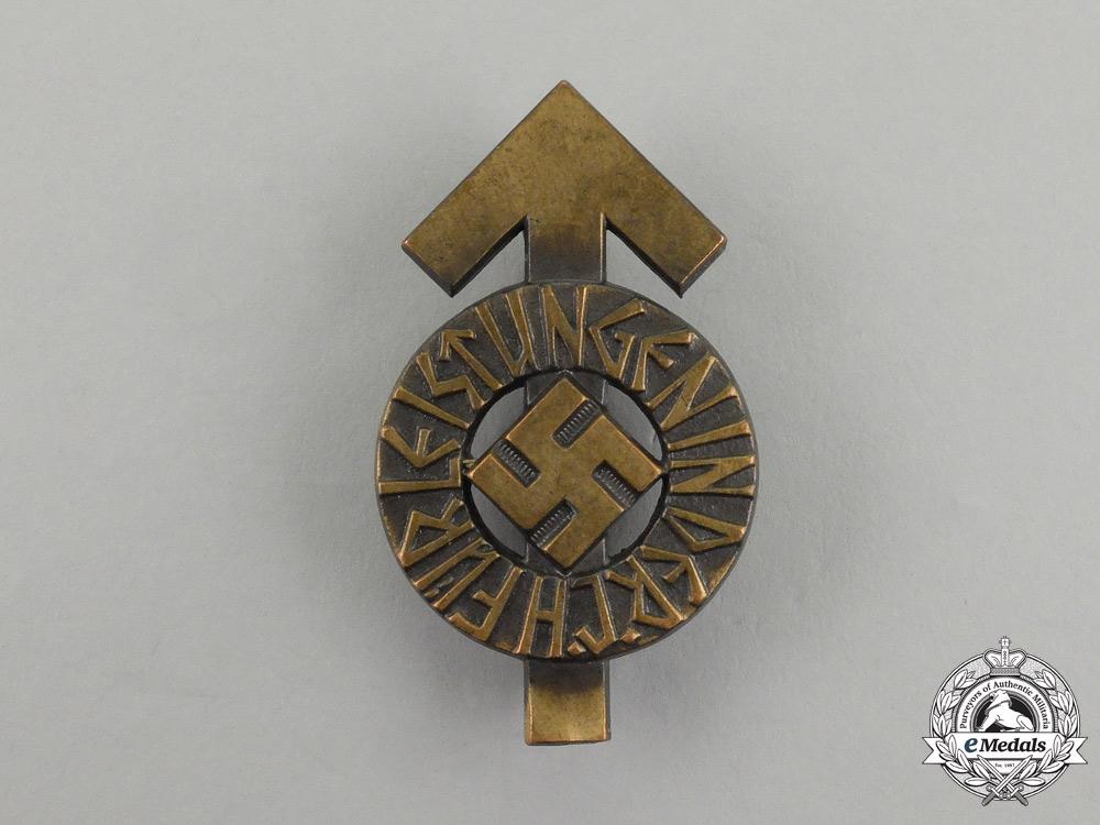 A Bronze Grade HJ Proficiency Badge by Berg & Nolte; Numbered