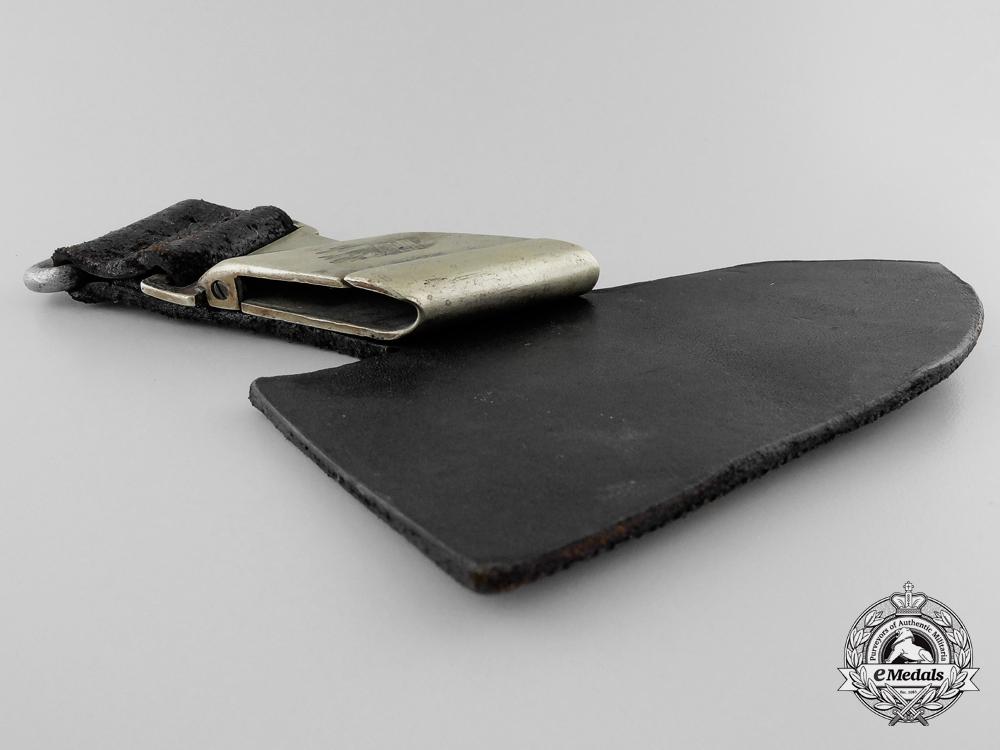 An RAD Enlisted Hewer Leather Dagger Hanger