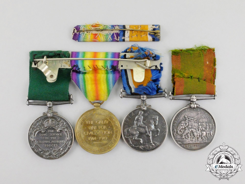 Canada, Dominion. A Father & Son Medal Group, Afghanistan and 18th Canadian Infantry