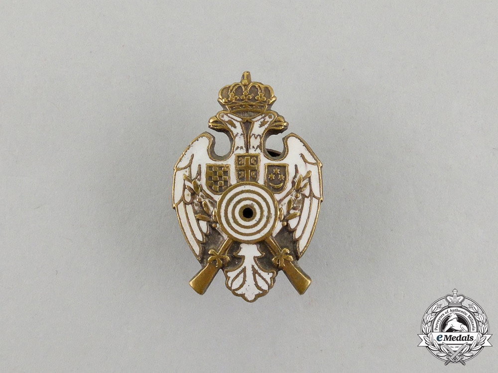 A Yugoslavian Sharpshooter's Lapel Award