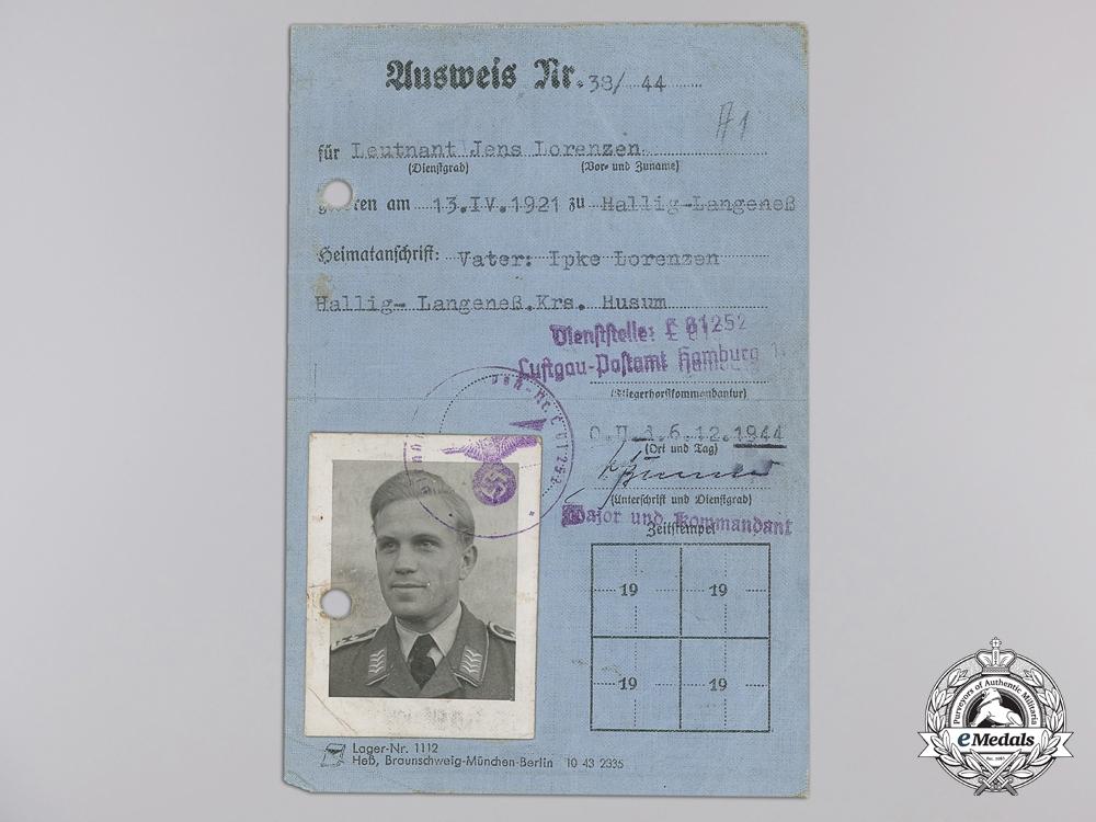 Germany, Luftwaffe. An Extensive Combat Document, Photograph & Flugbuch Group