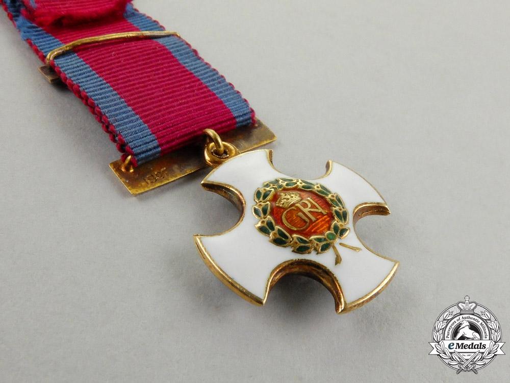 United Kingdom. A Miniature British Distinguished Service Order in Gold