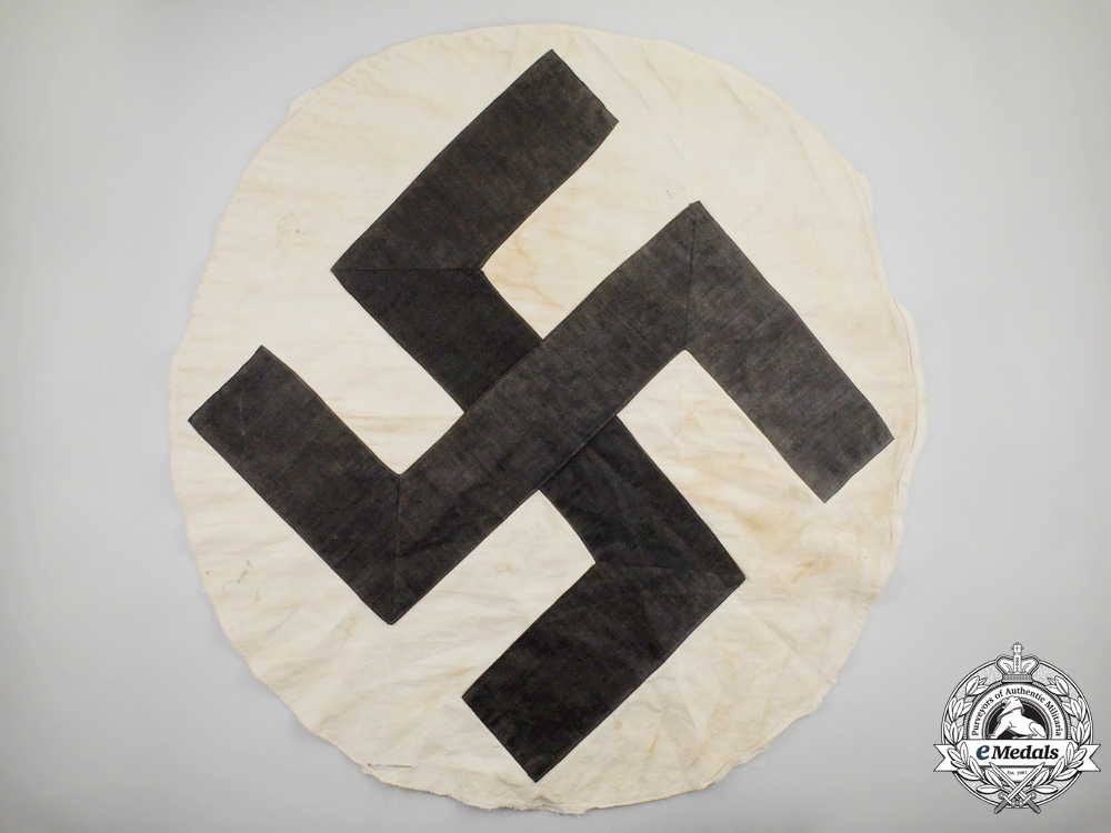Germany  A Large Third Reich Period Flag Roundel