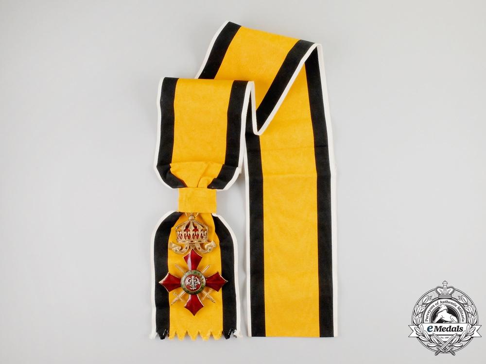 Bulgaria, Kingdom. An Order of Military Merit, I Class Grand Cross, c.1917