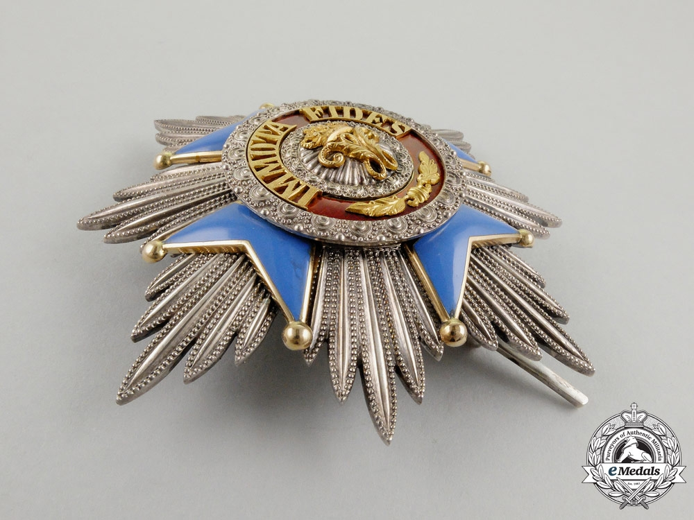 Germany, Brunswick. Order of Henry the Lion Grand Cross Set of Insignia (1912-1918)