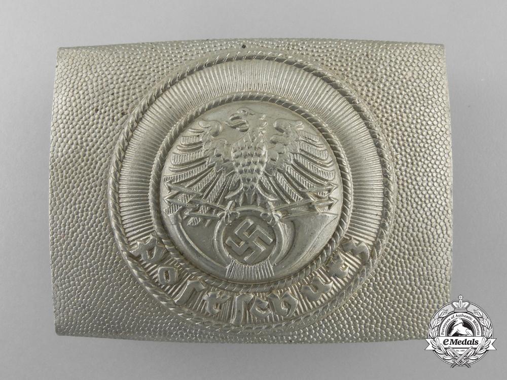 A German National Postal Service (Deutsche Reichspost) Enlisted Man's Belt Buckle
