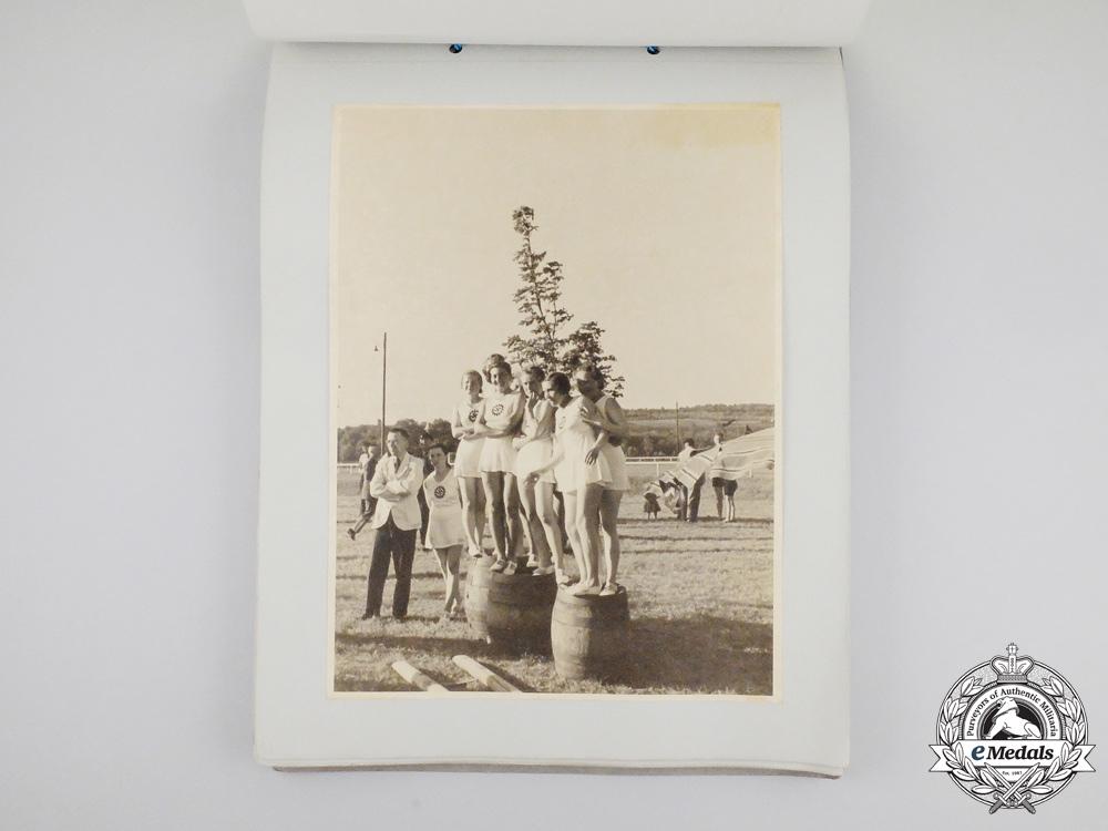 A 1939 Gau Finals Teenage Sports Photo Album