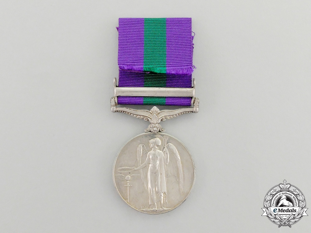 A 1918-1962 General Service Medal to PTE. T.Manyele