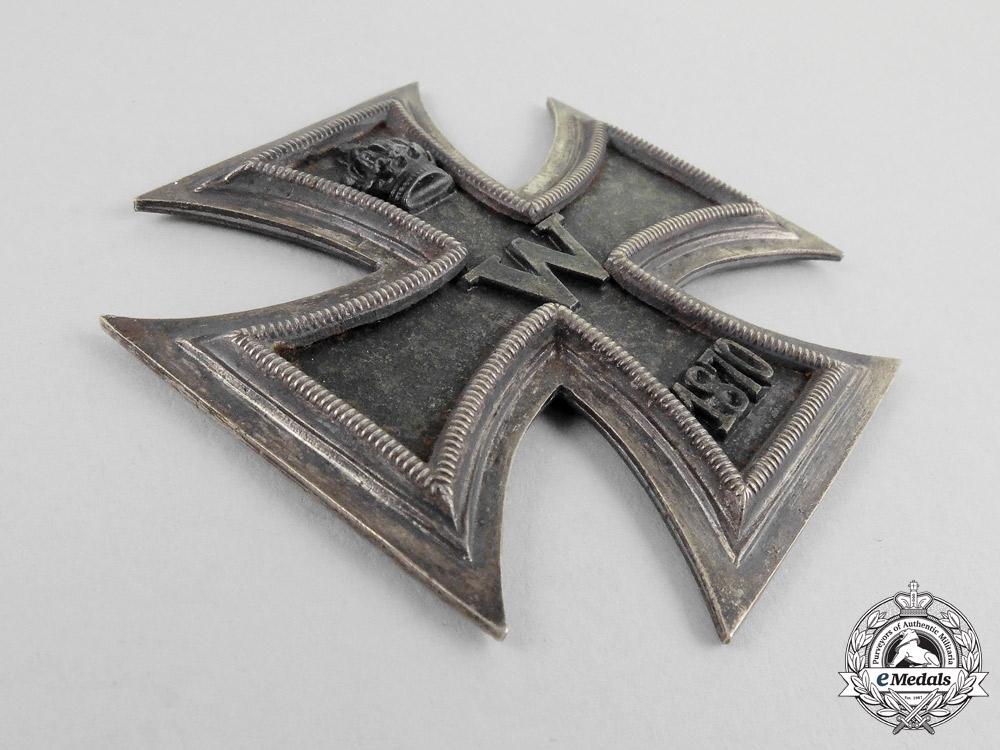 A Prussian Grand Cross of the Iron Cross 1870 Flag Box Appliqué