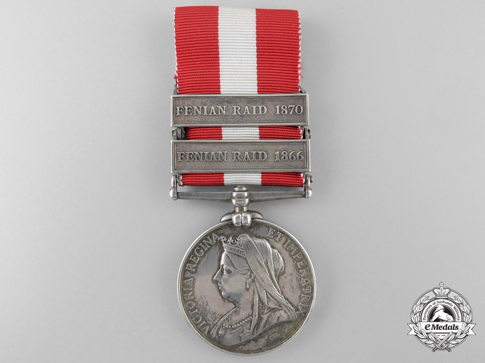 A Canada General Service Medal to a Battle of Trout Lake Participant