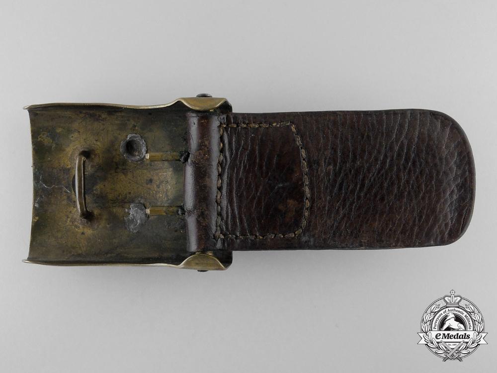 A German Imperial Army (Heer) Belt Buckle with Tab