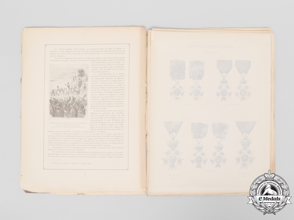 A French Publication Dedicated to the 100th Anniversary of the Legion of Honour