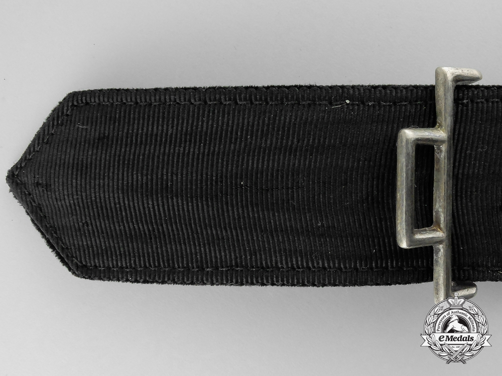 A Kriegsmarine Belt with Buckle by Friedrich Linden Co.
