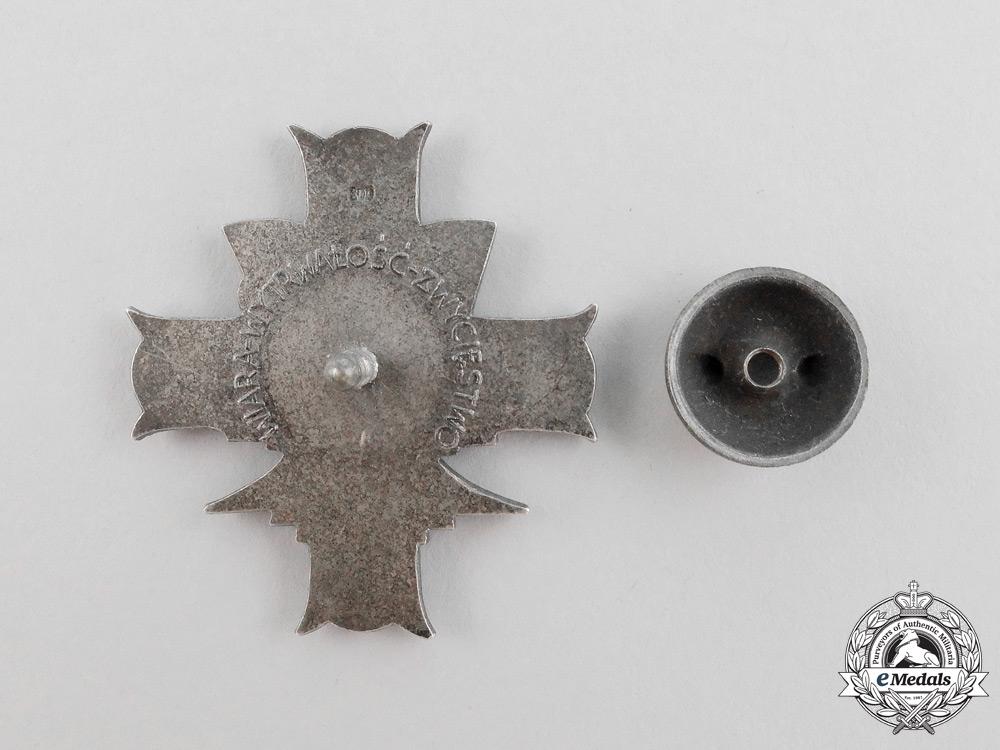 Poland. A 3rd Carpathian Rifle Division Badge in Silver