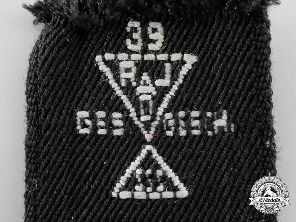A Reich Labour Service South (Süd) Region Leader's Cufftitle