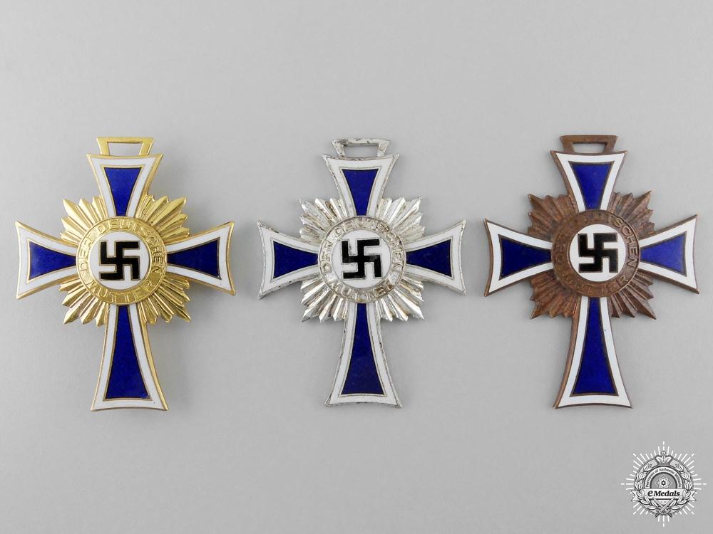 Three Second War German Mother's Crosses