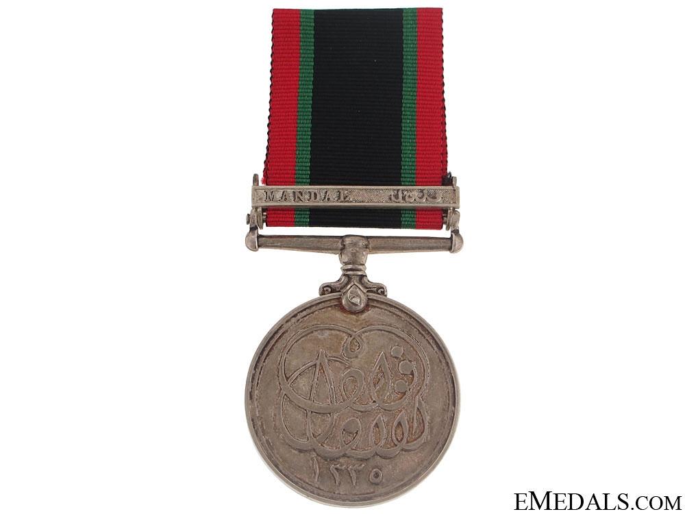 Khedives Sudan Medal 1911 - Mandal