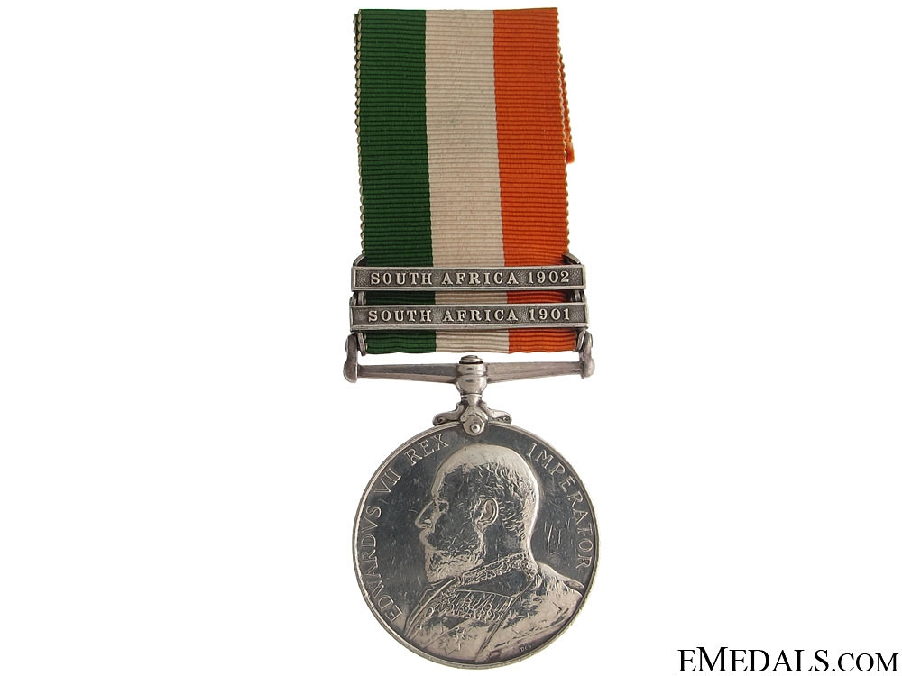 King's South Africa Medal - Devon Regiment