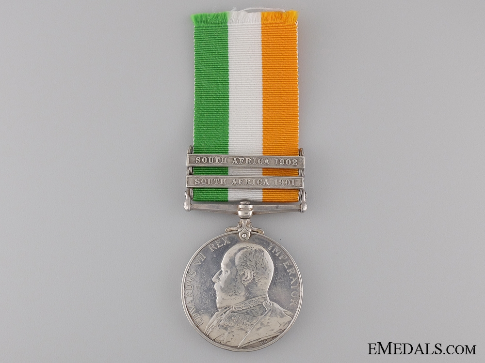 King's South Africa Medal to the King's Own Scottish Boarderers