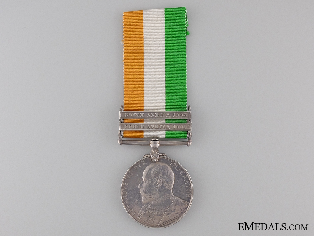 King's South Africa Medal to the East Surrey Regiment