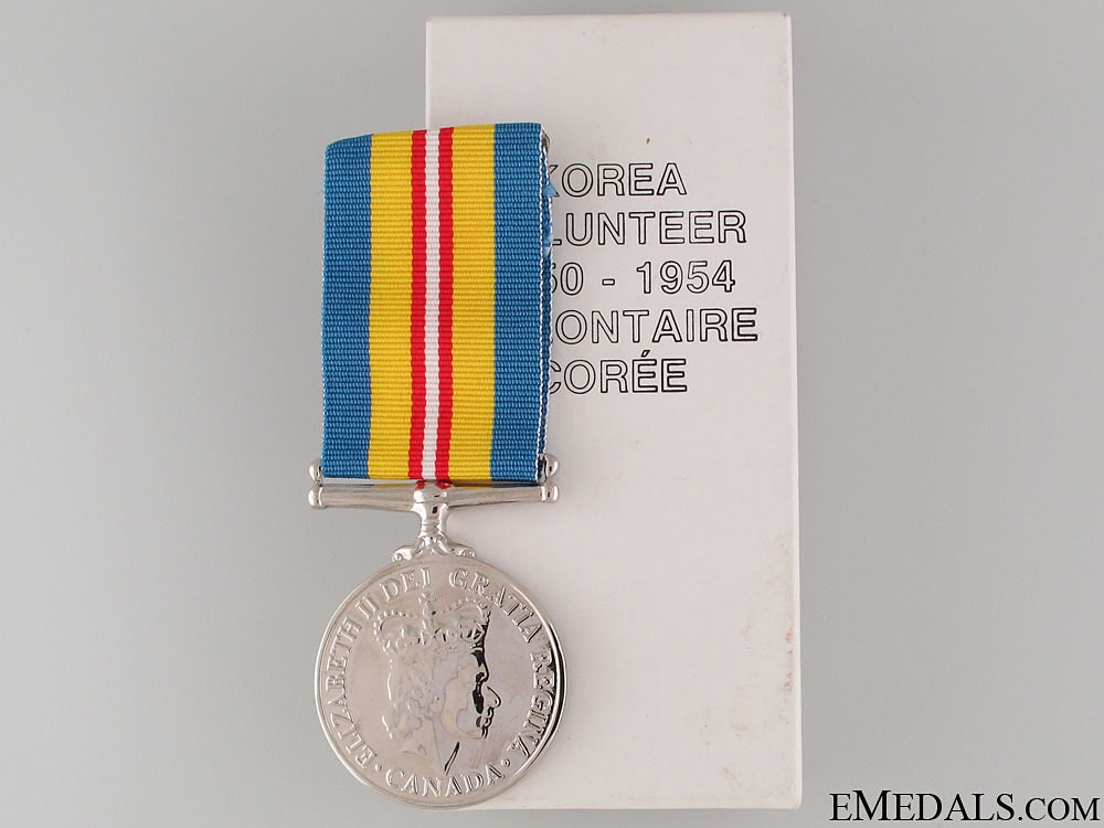 Korea Volunteer Service Medal 1950-54