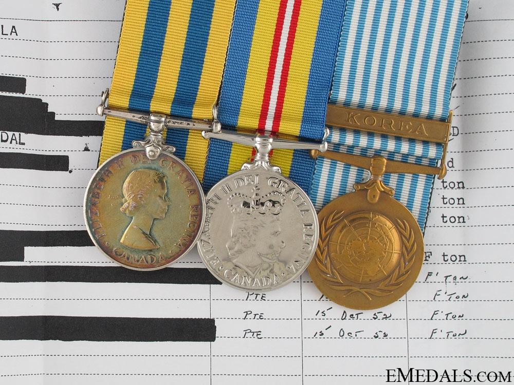Korean War Group to Private James E. Price