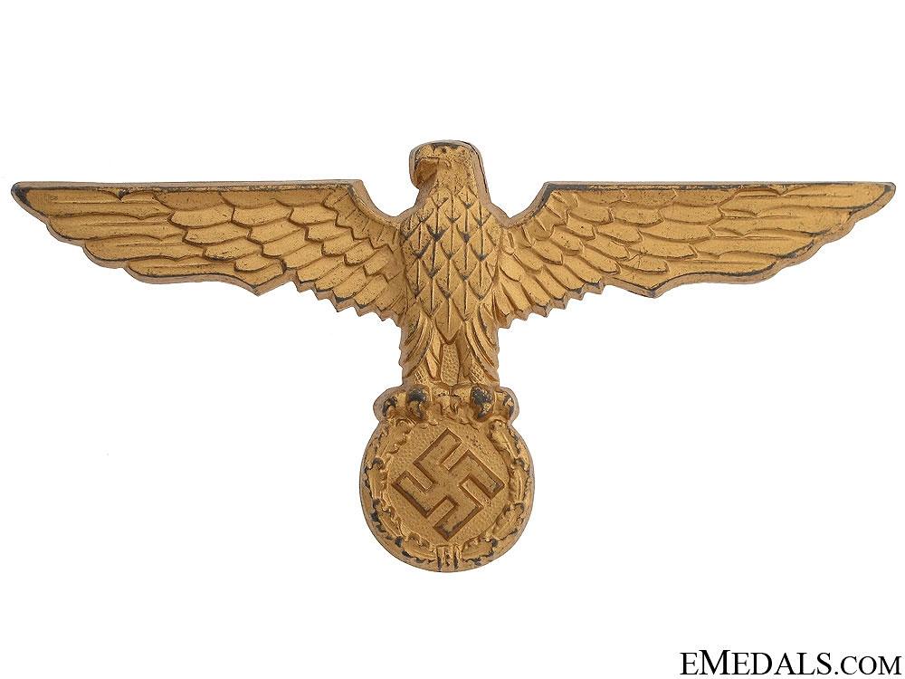 Kriegsmarine Pith Helmet Eagle