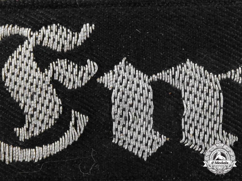 A Reich Labour Service  District 8 (Emsland 8) Officer's Cufftitle