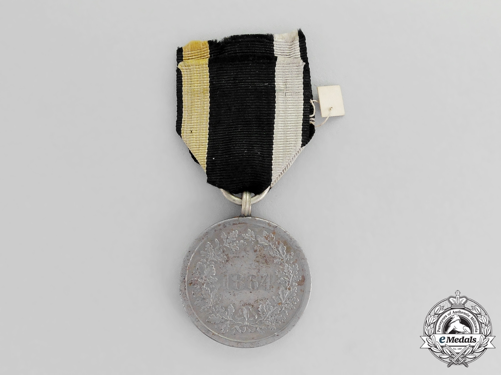 A Commemorative Medal for the 1864 Campaign in Denmark