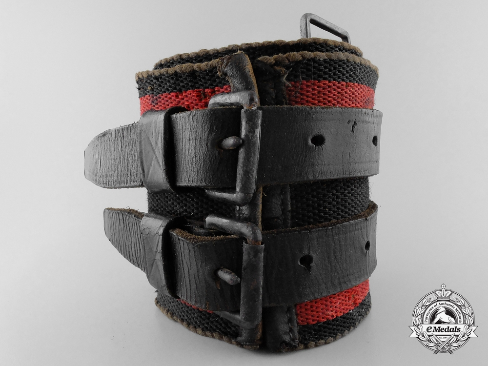 Germany, Third Reich. A Fire Brigade Service Support Belt
