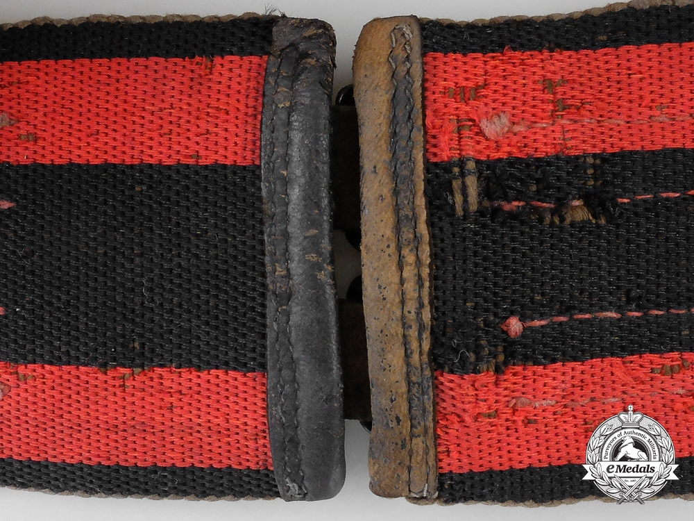 Germany, Third Reich. A Fire Brigade Service Support Belt