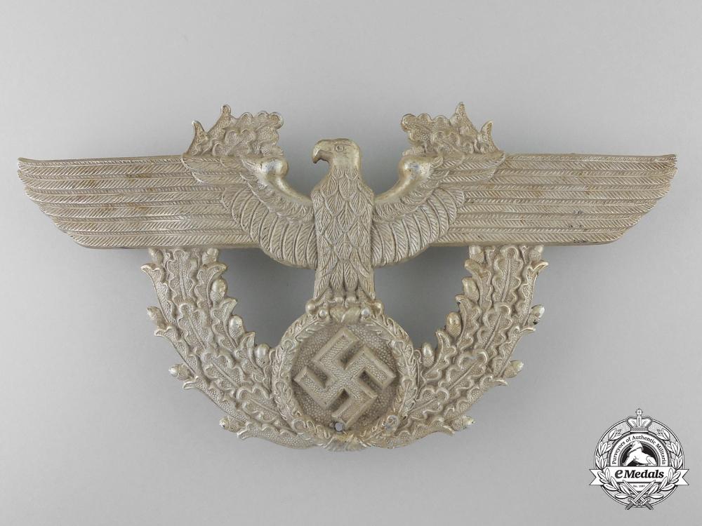 A Second War German Police Shako Eagle