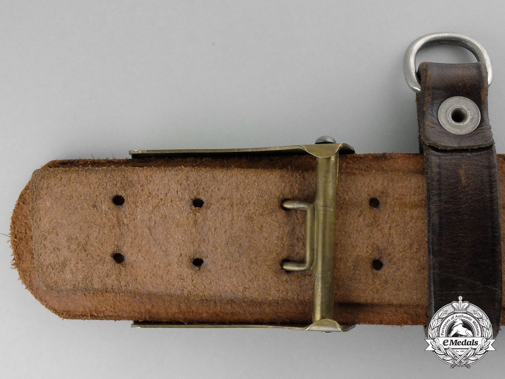 An Early 1929 SA (Sturmabteilungen) Enlisted Man's Belt with Buckle