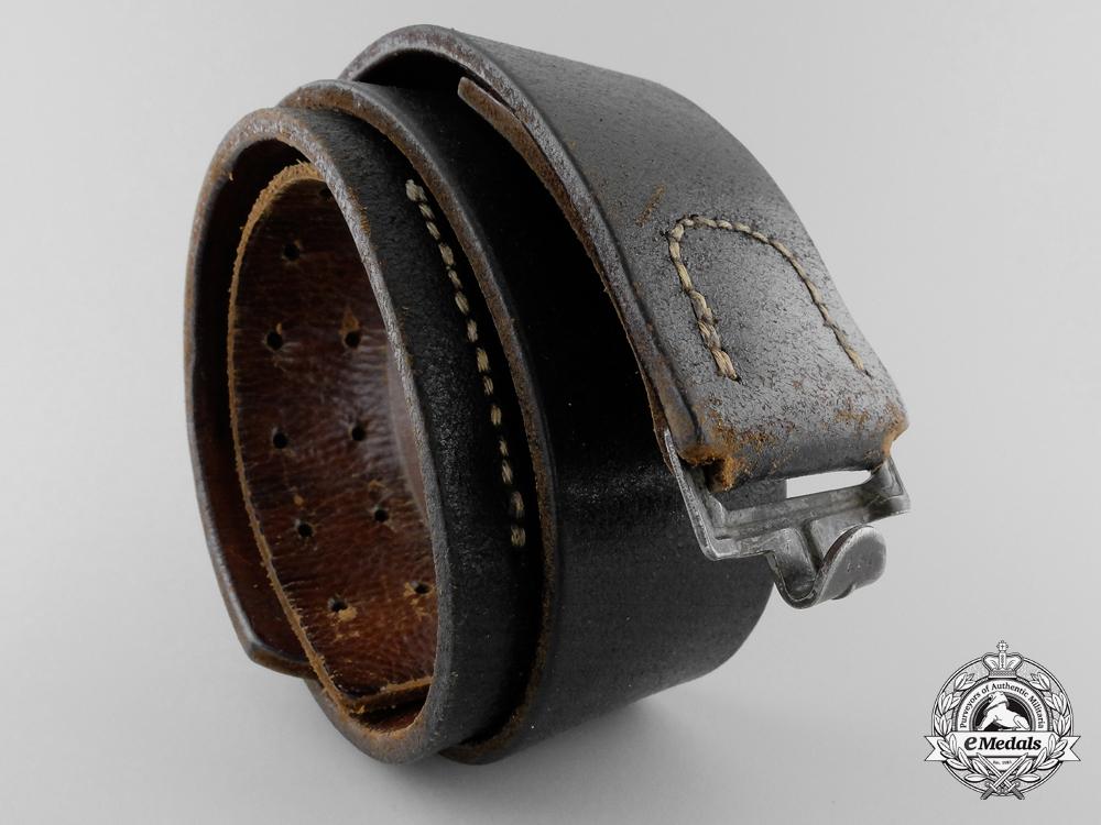 A Kriegsmarine Enlisted Man's Belt 1943