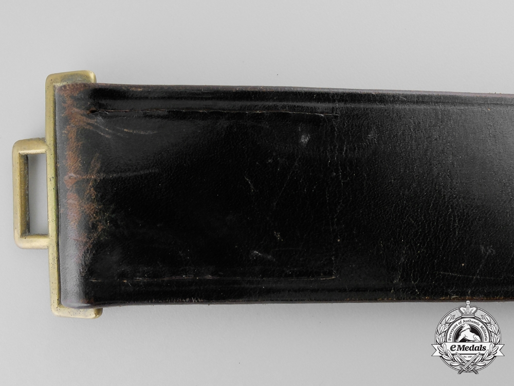 A Fire Defence Service Enlisted Man's Belt
