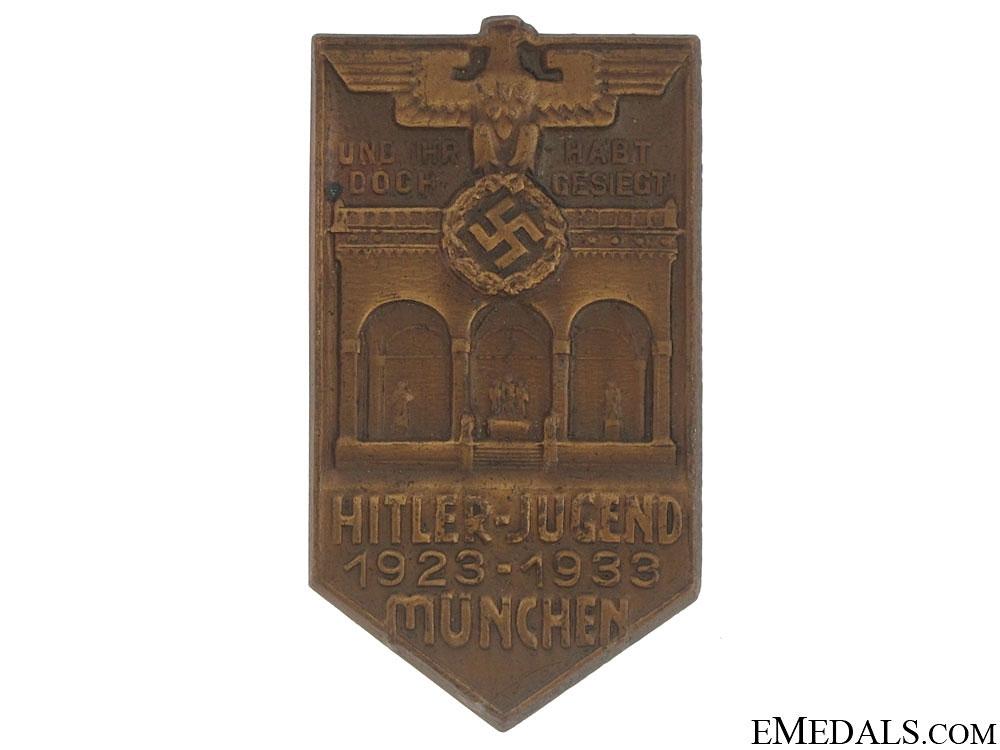 Large HJ Badge
