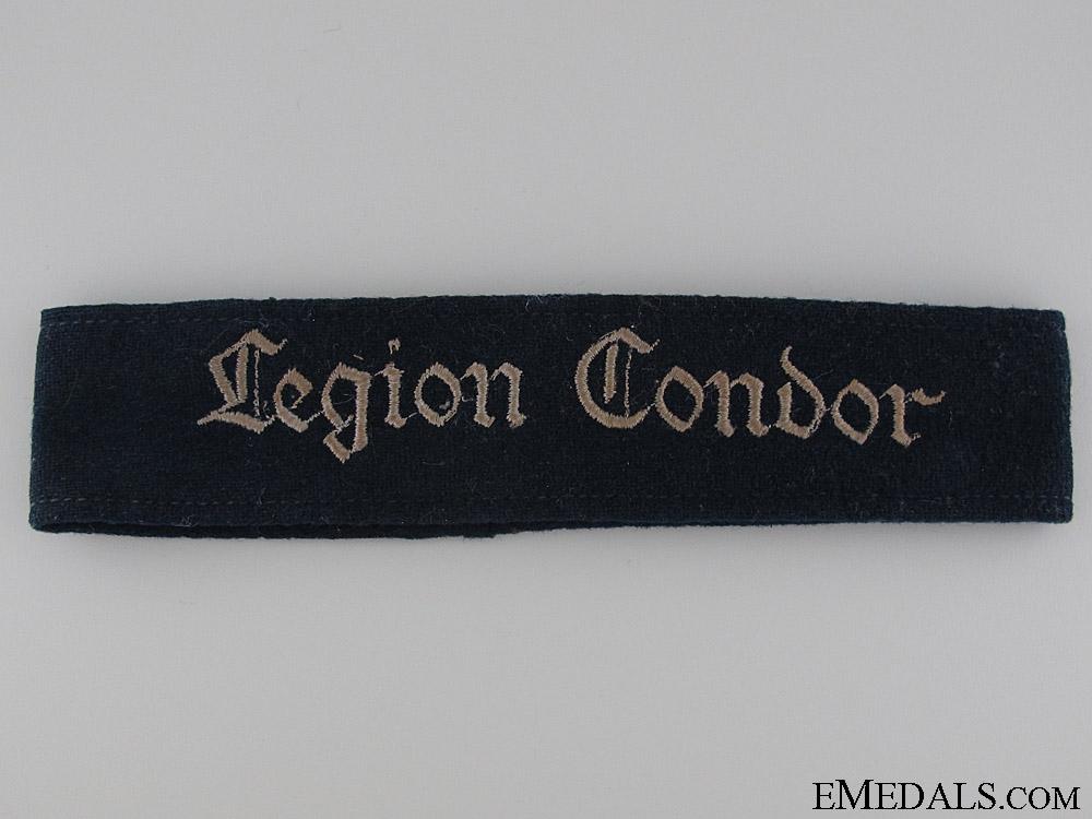 Legion Condor Cufftitle