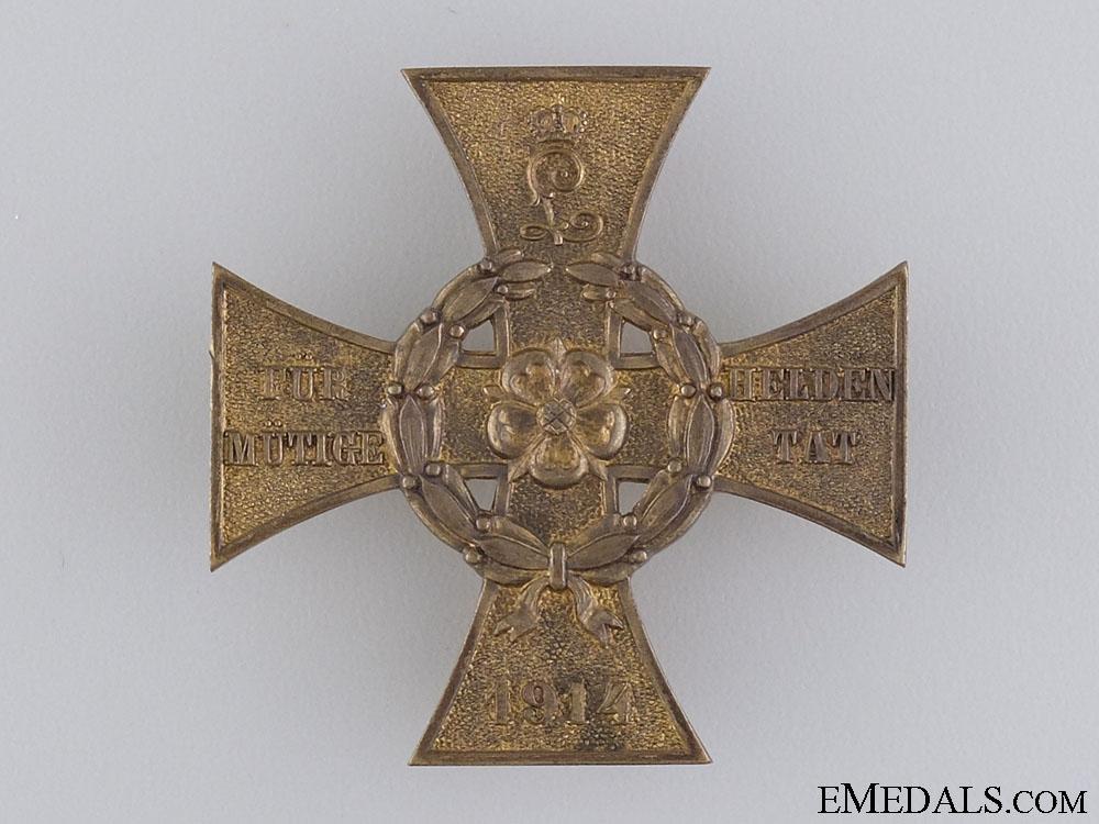 Lippe-Detmold War Merit Cross; First Class