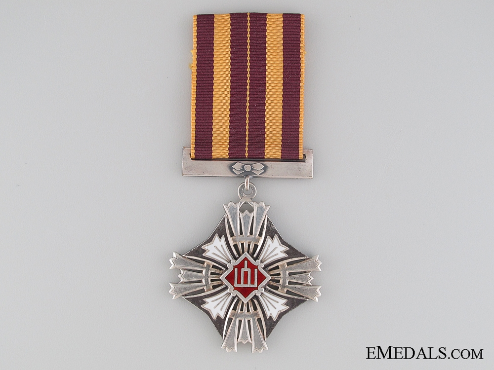 A Lithuanian Grand Duke Gediminas Order; 5th Class