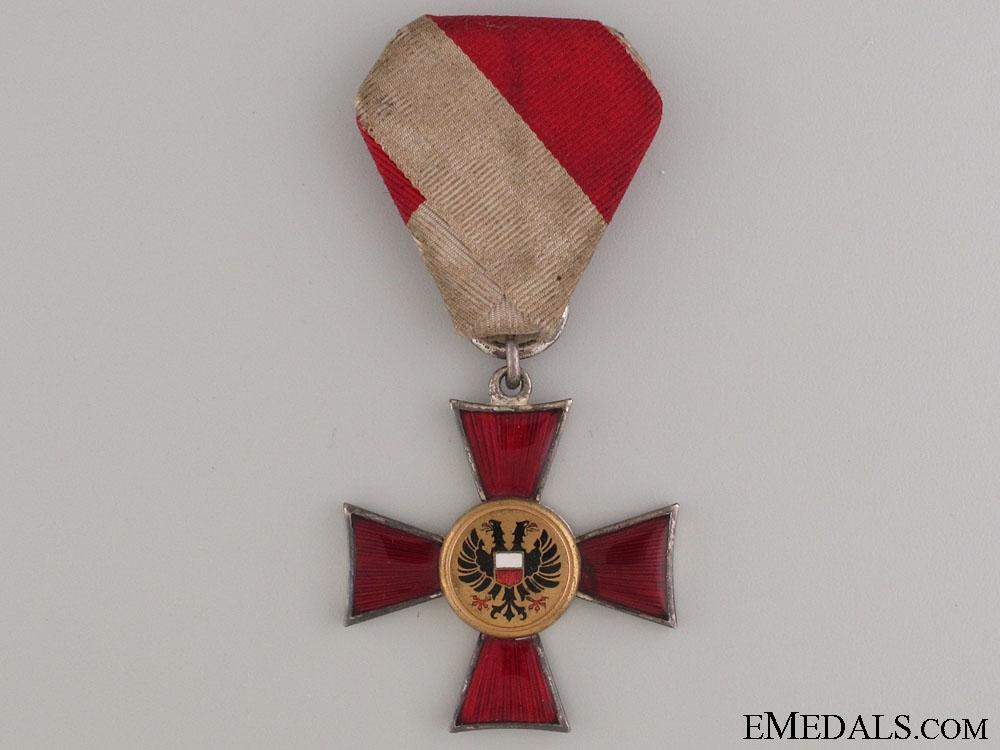 Lubeck Hanseatic Cross