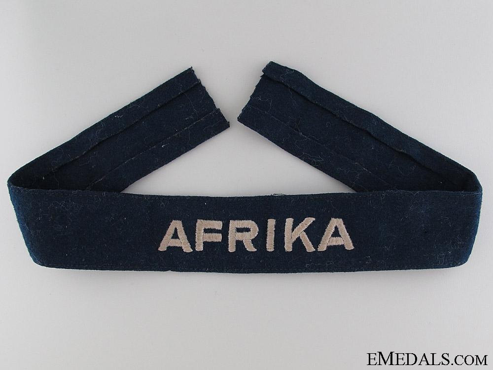 Luftwaffe Afrika Cufftitle