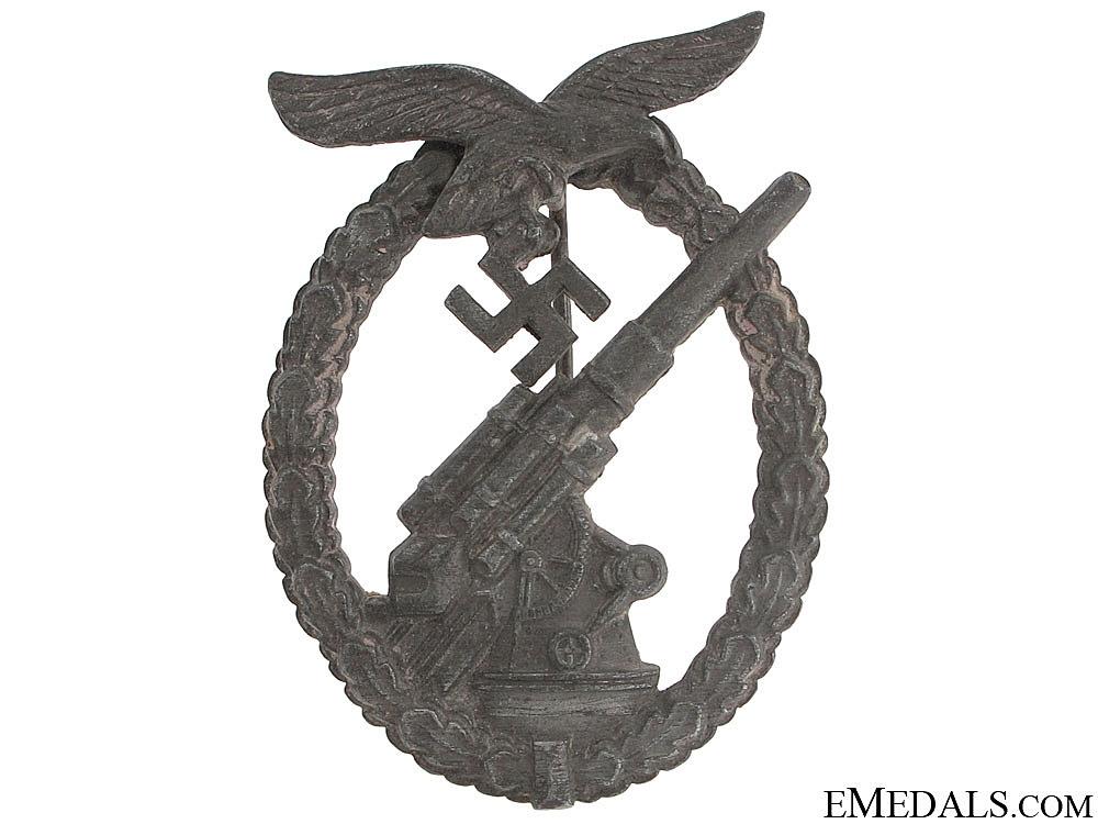 Luftwaffe Flak Badge – by G.B.