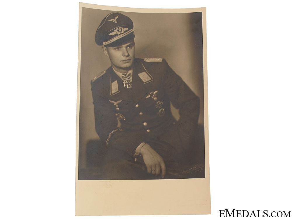 Luftwaffe KC Winner with Dedication Photo