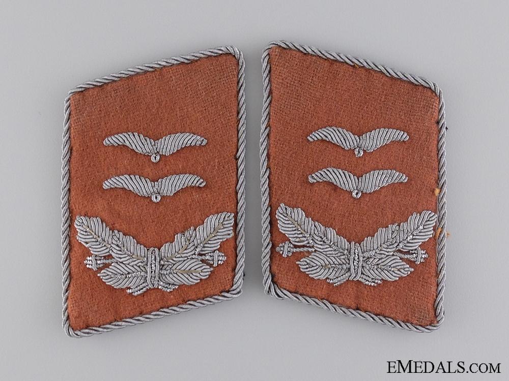 Luftwaffe Signals Oberleutnant's set of Tabs