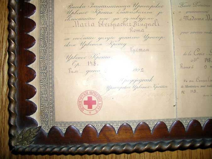 THE RED CROSS ORDER